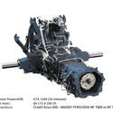 Transmission agricole 1540 (175 - 250 ch.)
