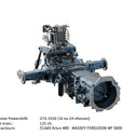 Transmission agricole 2550 (125 ch.)