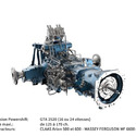 Transmission agricole 2520 (125 - 170 ch.)