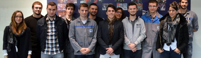 Jeunesse, embauche et performance !  En 2016, 35 apprentis ont fait leur rentrée au GIMA Beauvais